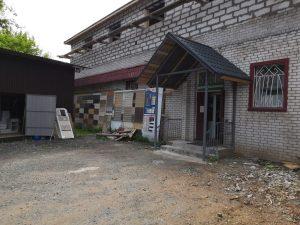 Продолжается реконструкция строительного магазина в Кимрах