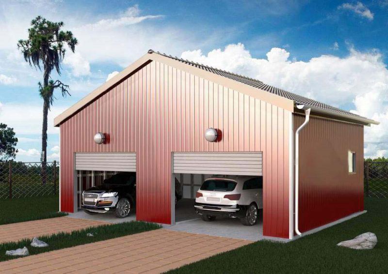 строительство гаража в Твери, Кимрах, Москве и Подмосковье