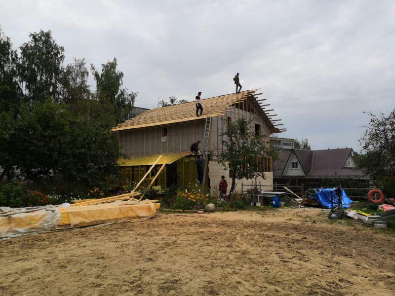 реконструкция строительство ремонт коттедж квартира дача дом