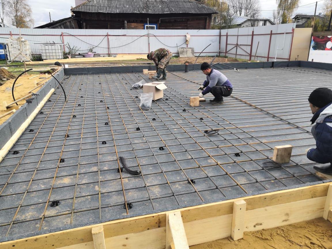 строительство коттеджа в Кимрах