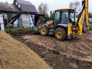 Строительная компания «Дастрой» приступила к возведению коттеджа в родном городе — Кимрах. Это комплексный проект, который включал снос старого дома