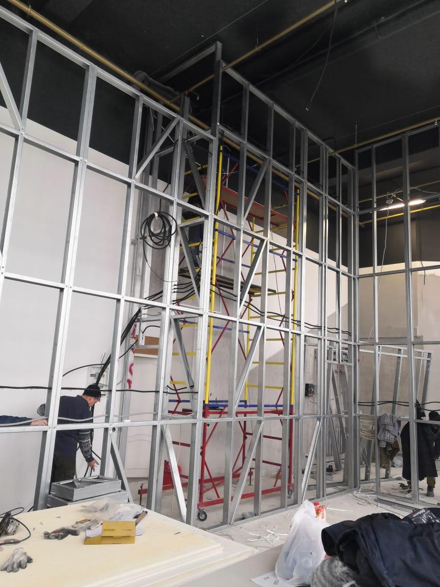 зонирование помещения в офисе в Дубне