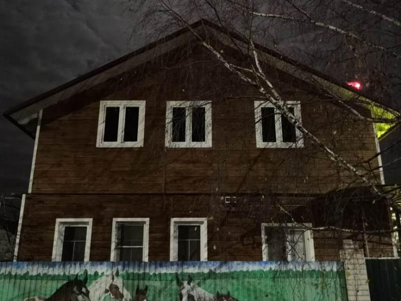 Завершено строительство коттеджа в Кимрах