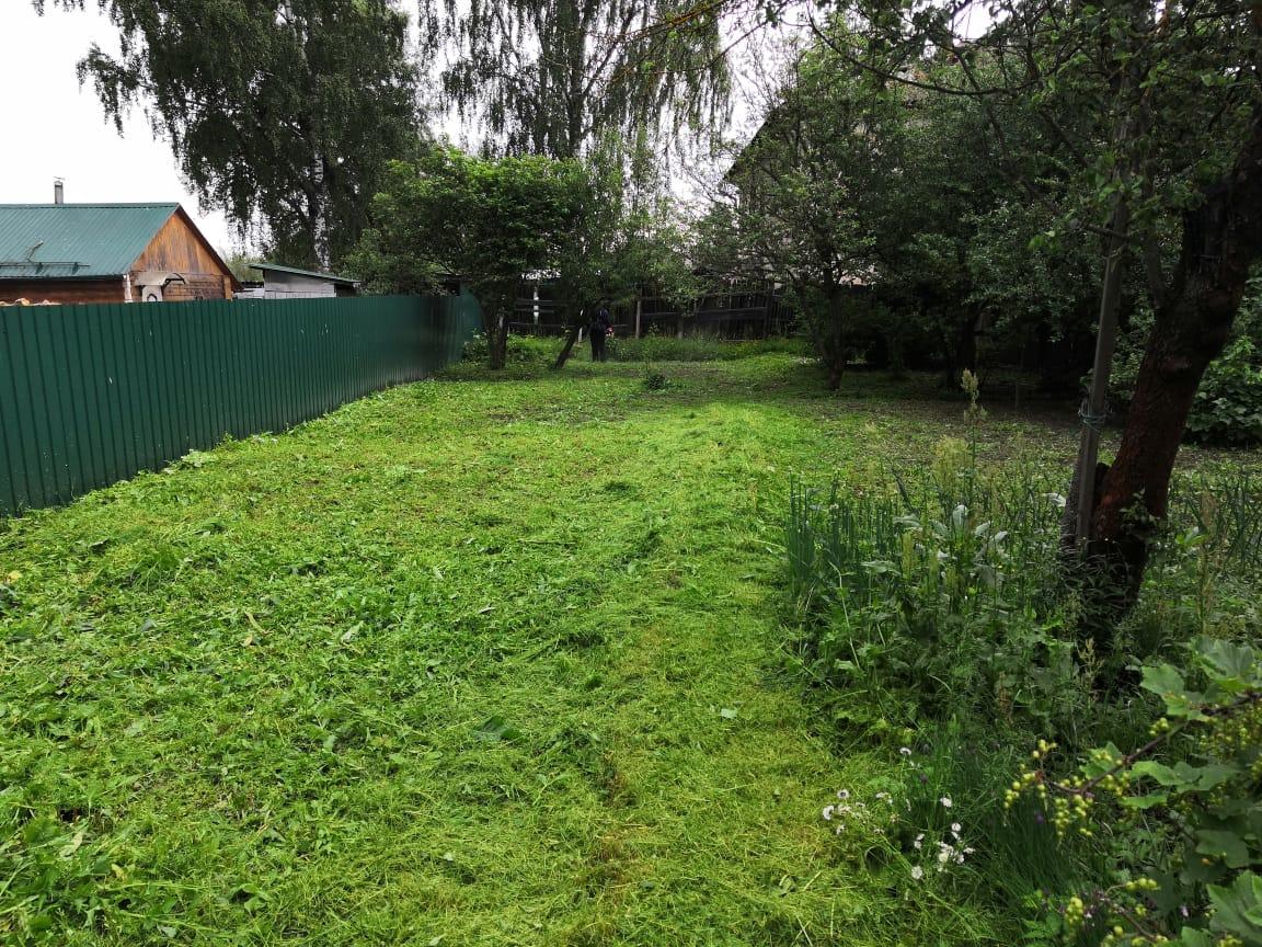 В перечне выполняемых работ появилась еще одна — промышленный покос травы на территориях муниципальных образований и частных земельных участках.