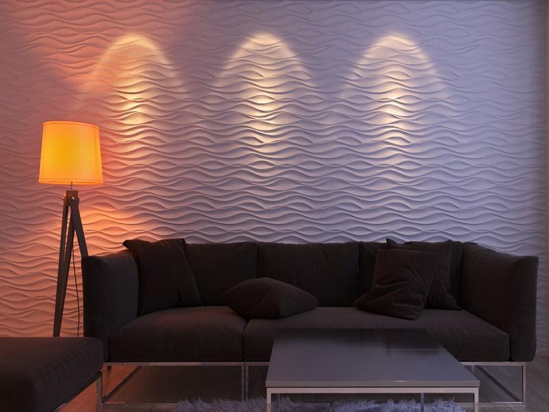 Использование декоративной штукатурки для отделки стен