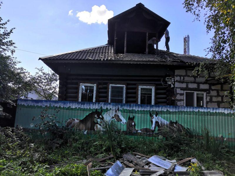 хороший пример реконструкции бревенчатого здания